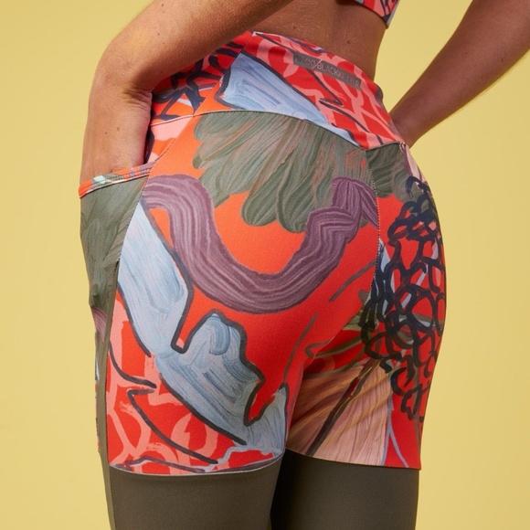 643293aa25a54 Gymshark Pants | Nikki B Pineapple Print Leggings Small | Poshmark
